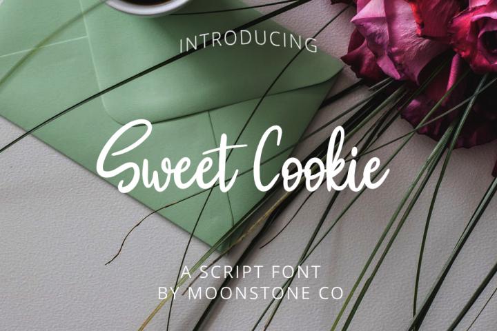 Sweet Cookie Handwritten Script