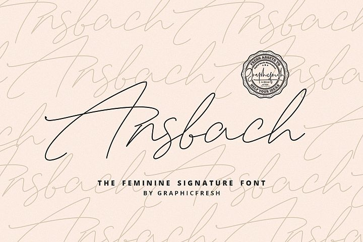 Ansbach | The Feminine Signature