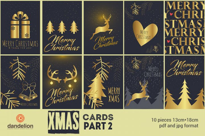 Christmas cards part 2 Dandelion Studio Crafters Card Making