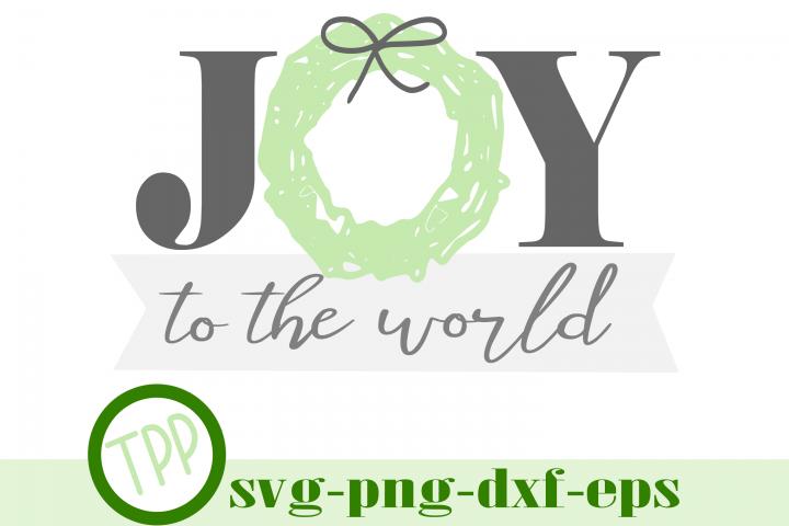 Christmas svg, Joy to the World svg, Holiday svg
