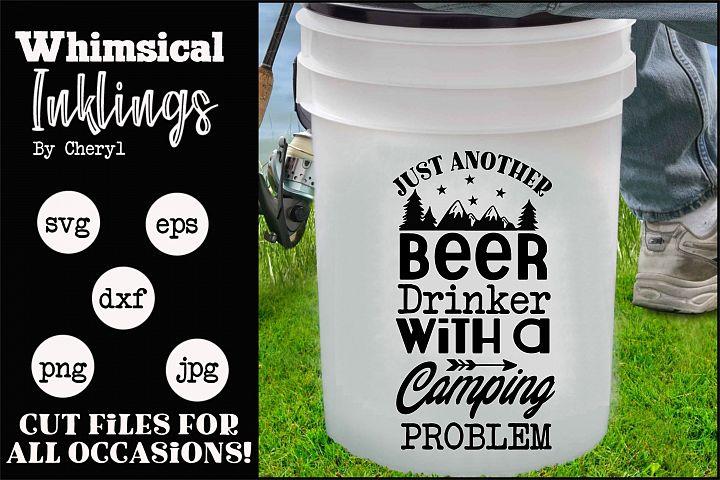 Beer Drinker-Camping SVG