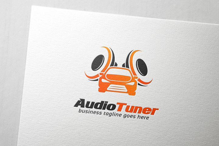 Car Audio Tuner Logo