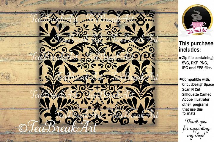 Digital Comercial Use Zentangle pattern Design 906