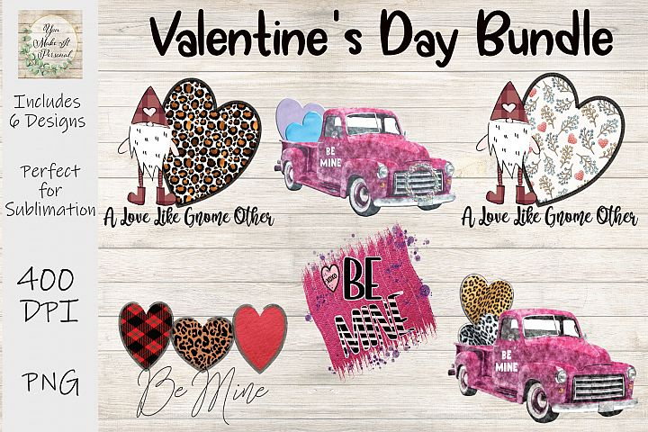 Valentines Day Bundle, Be Mine, Gnomes, Trucks and More!