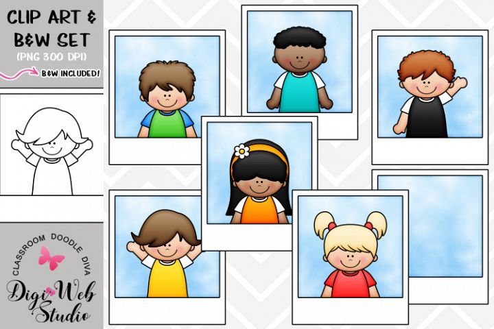 Clip Art / Illustrations - Photo Kids