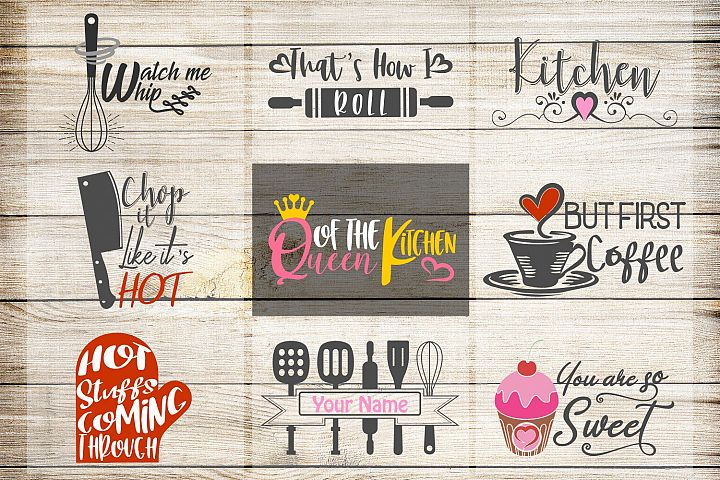 kitchen svg, VOL2, kitchen bundle, kitchen clipart, kitchen