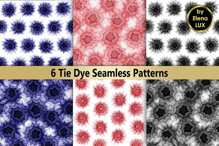 Tie dye Seamless Set