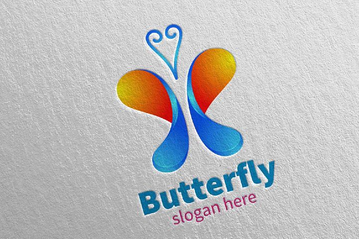 Butterfly Logo vol 12
