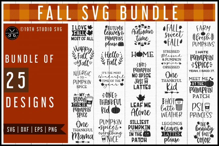 Fall SVG Bundle | Autumn SVG Bundle MB57