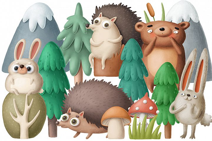 Forest scene creator 1