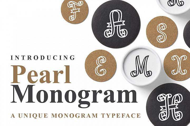 Pearl Monogram