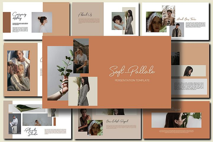 Soft Pallate - Powerpoint Template
