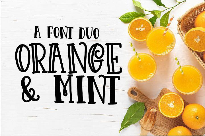 Orange N Mint