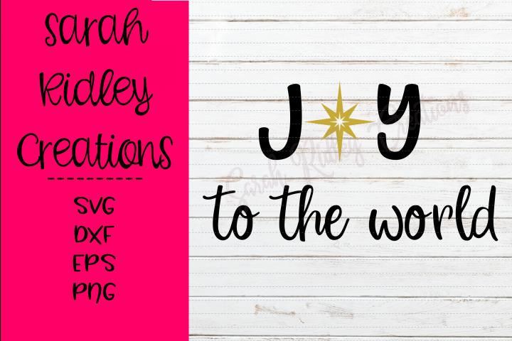 Joy to the World SVG