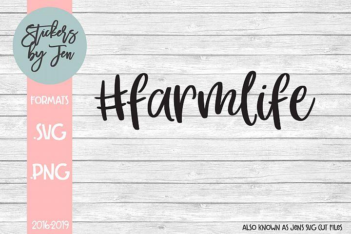 #Farm Life SVG Cut File