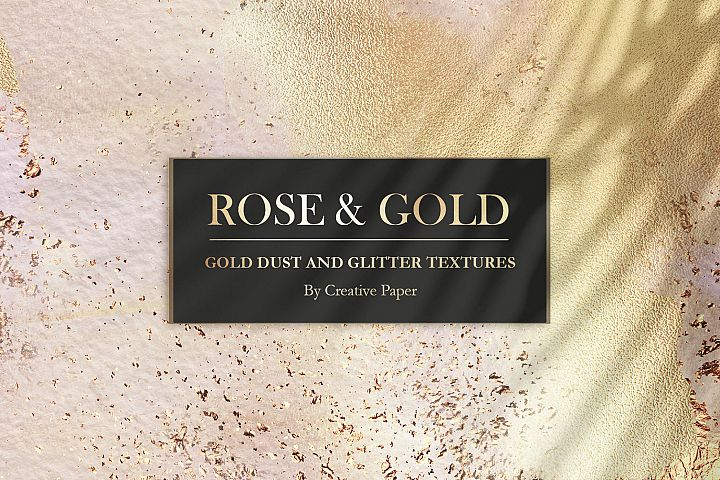 Rose Gold Watercolor Collection