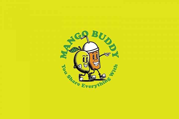 Mango Buddy Logo Template