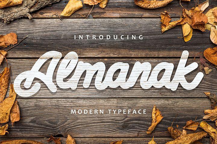 Almanak - Modern Typeface