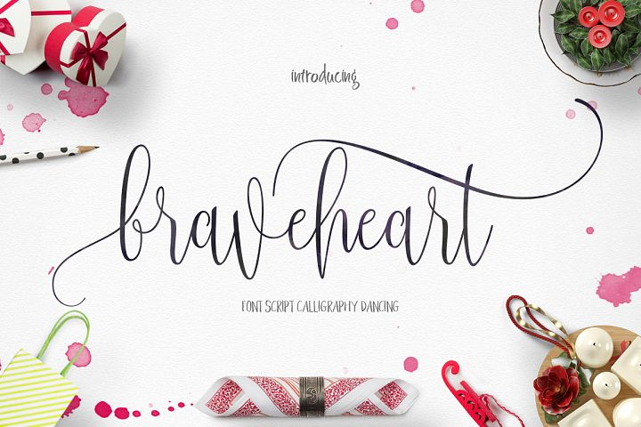 BraveHeart - Free Font of The Week Font