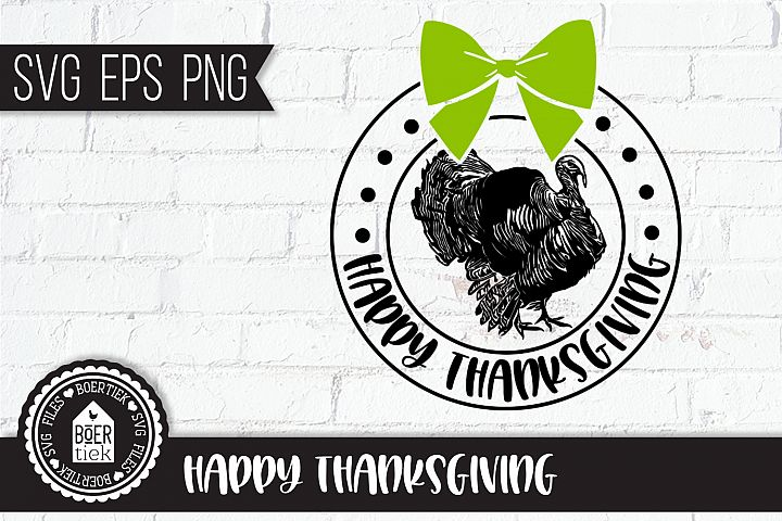 Thanksgiving, SVG cutting file, turkey
