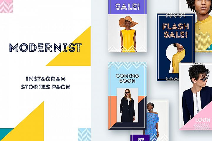Modernist Instagram Stories Pack