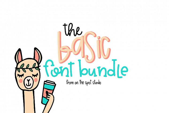 The Basic Font Bundle
