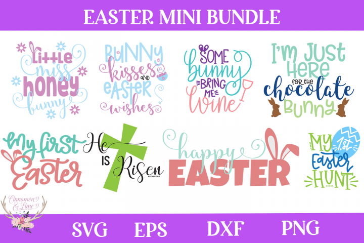 Easter Bundle - 8 Easter SVG files