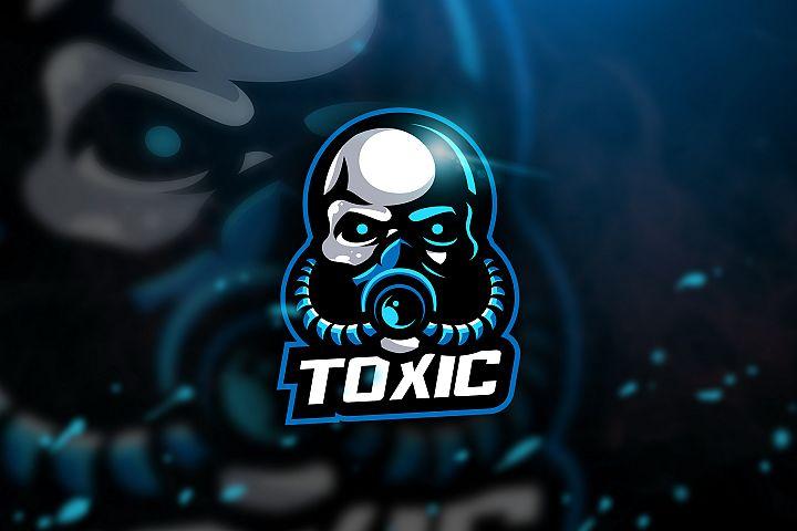 Toxic 2 - mascot logo & Esport Logo
