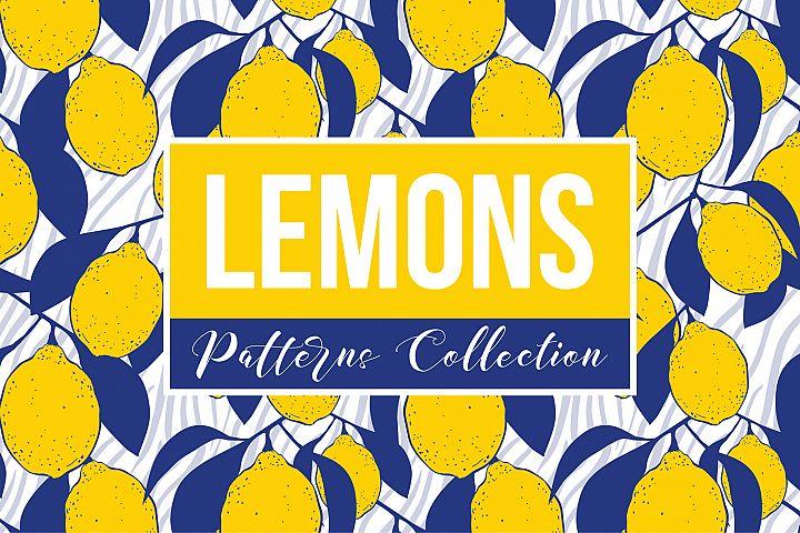 Lemons Patterns Collection