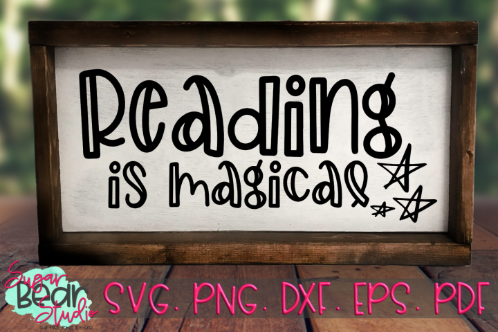 Reading is Magical - A School SVG