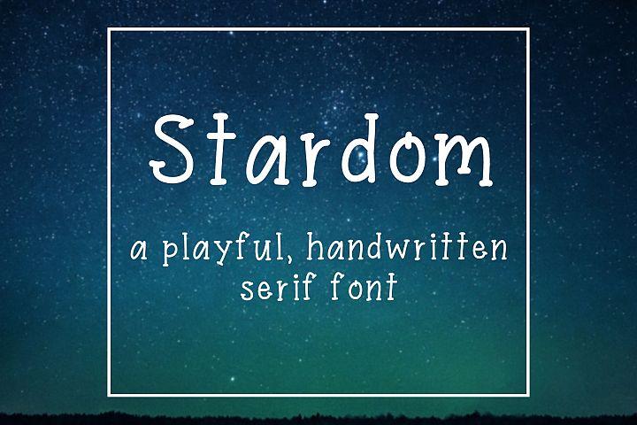 Stardom Handwritten Font