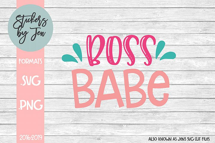Boss Babe SVG Cut File