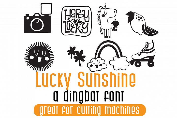 DB Lucky Sunshine - Free Font of The Week
