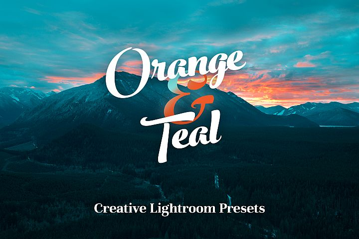 Orange & Teal Lightroom Presets