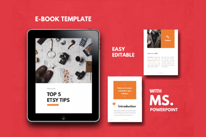 Tips eBook Template Easy Editable Using Ms PowerPoint