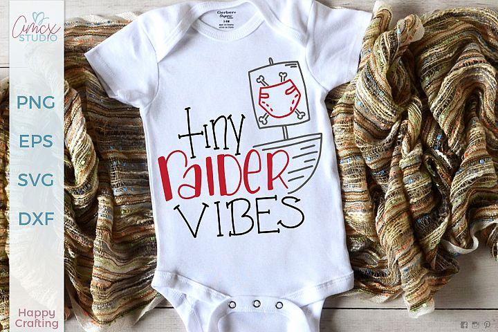 Tiny Raider Vibes - Kids Pirate SVG