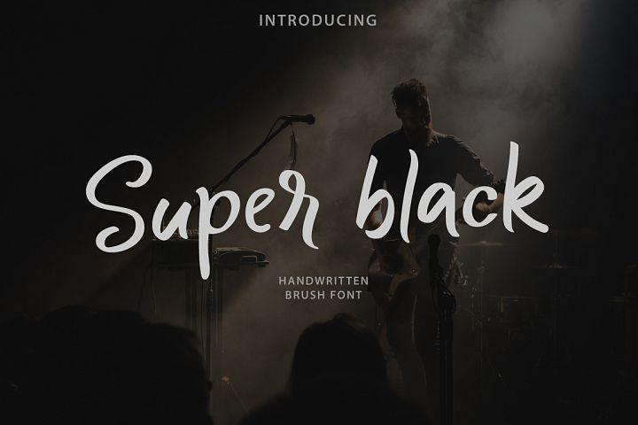 Super black example image 1