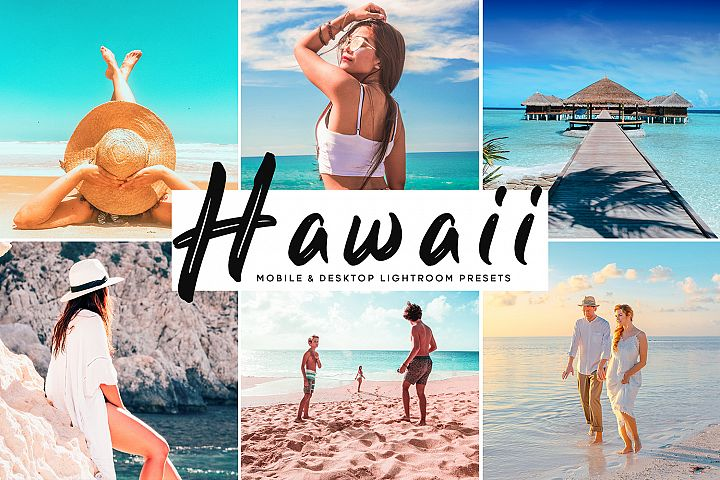 Hawaii Mobile & Desktop Lightroom Presets