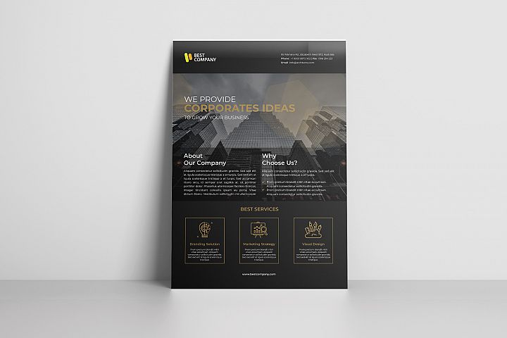 Creative Corporate Flyer Vol. 03