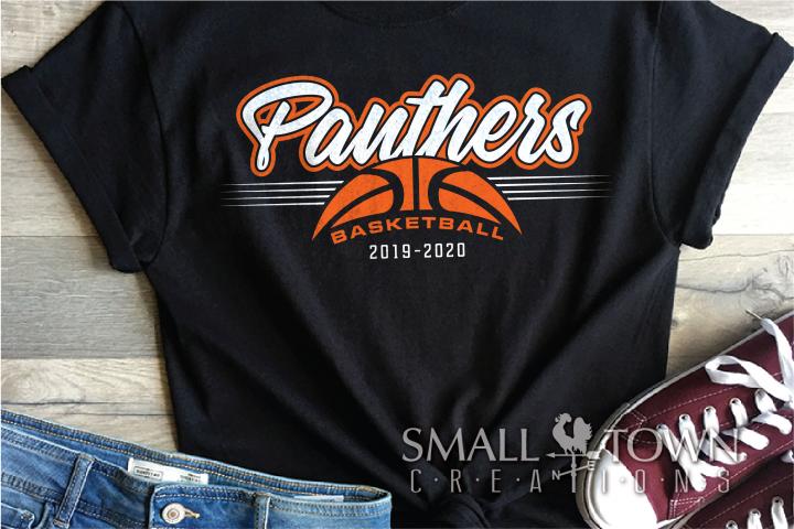 Panthers, Basketball, Team, Sport, Logo, PRINT, CUT & DESIGN
