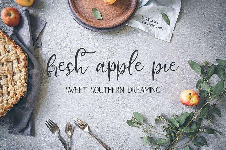 Farmhouse Country Rustic Cursive Font - Free Font of The Week Design7