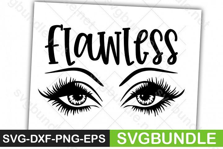 Flawless SVG, Makeup svg
