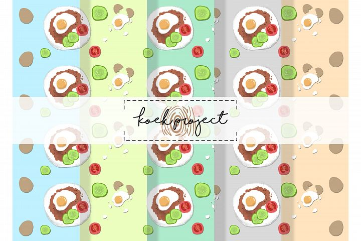 Food Pattern Pack