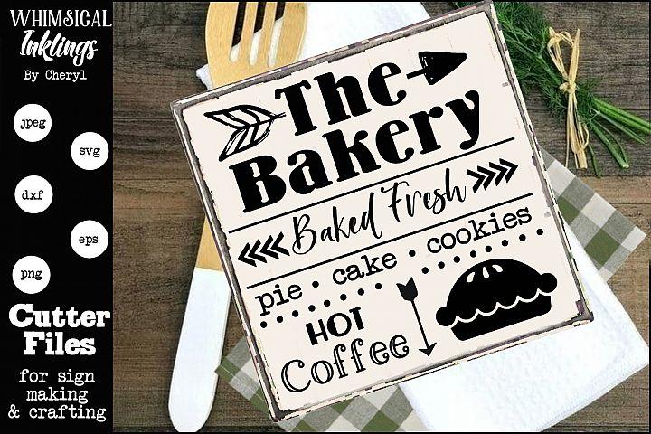 Baked Fresh- Bakery SVG