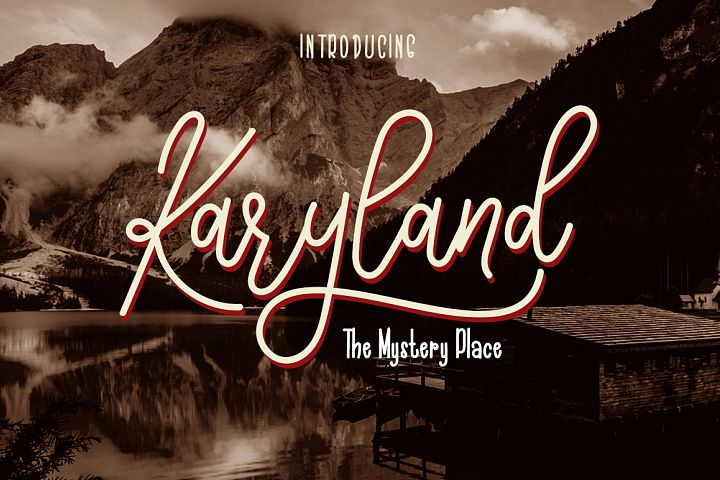 The Karyland / Natural Font Duo
