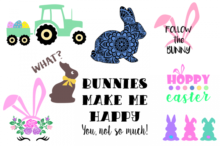 Easter BUNDLE SVG File