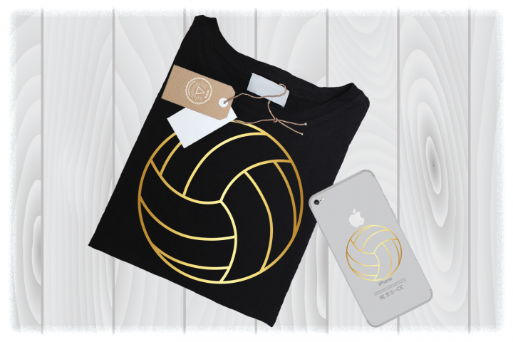 Volleyball Outline SVG Files for Cricut Mom Sport Designs