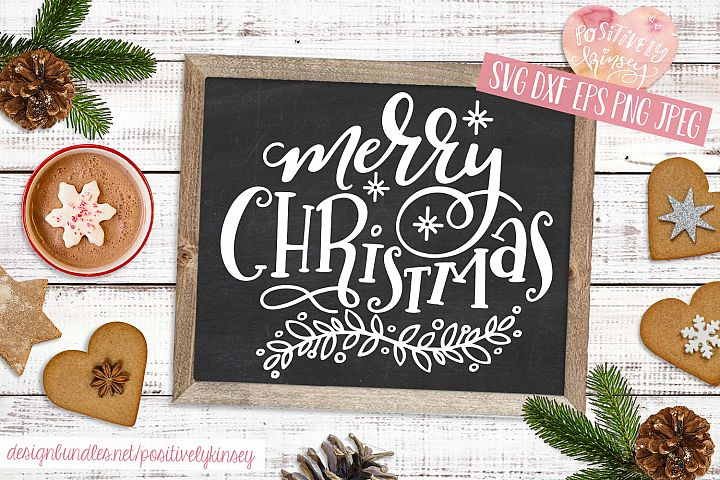 Merry Christmas SVG DXF PNG EPS Christmas Quote Svg Design