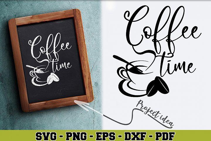 Coffee SVG n155 | Coffee time
