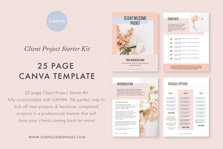 Canva Client Project Starter Kit